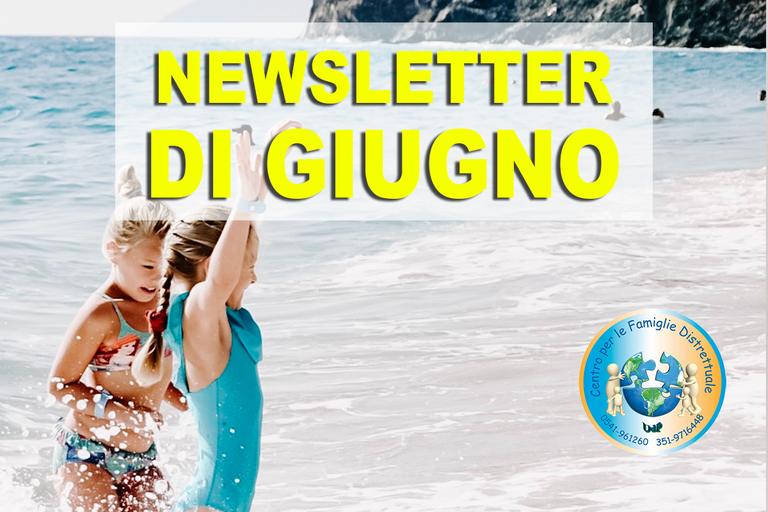 newsletter di Giugno