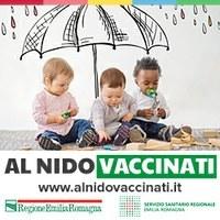 Al nido vaccinati (logo)