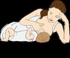 Allattamento al seno - Foto di gdakaska da Pixabay