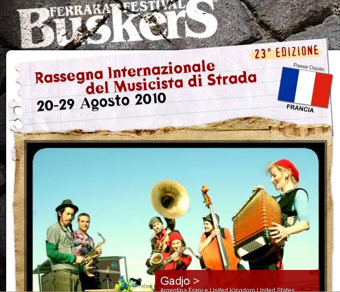 Buskersfestival 2010